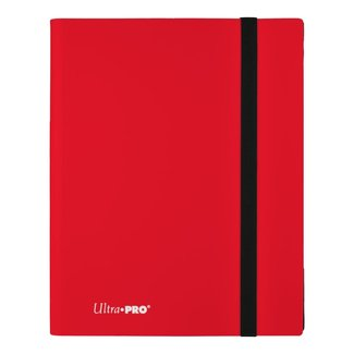 Ultra Pro 9-Pocket Eclipse PRO-Binder - Apple Red