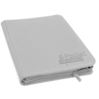 Ultimate Guard 8-Pocket Zipfolio XenoSkin - Grey