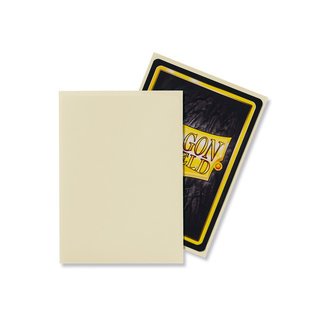 Dragon Shield Ivory Standard Matte Sleeves 100 ct - Dragon Shield
