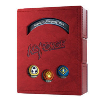 Gamegenic KeyForge: Deck Book Red