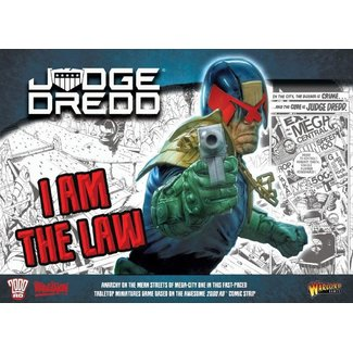 Rebellion Judge Dredd: I Am the Law Starter Game (SALE)