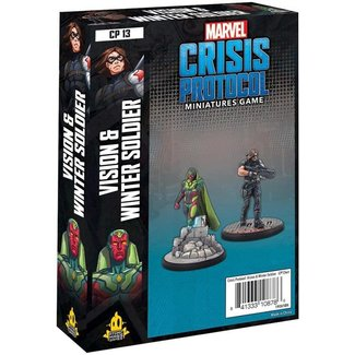 Atomic Mass Games Marvel Crisis Protocol: Vision and Winter Soldier