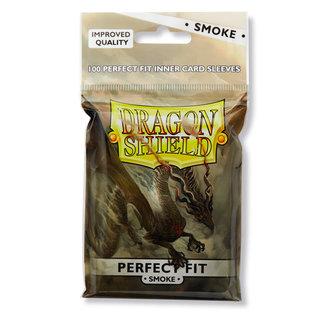 Dragon Shield Smoke Perfect Fit Sleeves 100 ct - Dragon Shield