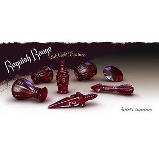 PolyHero Roguish Rouge Rogue Dice Set