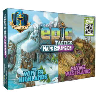 Gamelyn Games Tiny Epic Tactics: Maps Expansion