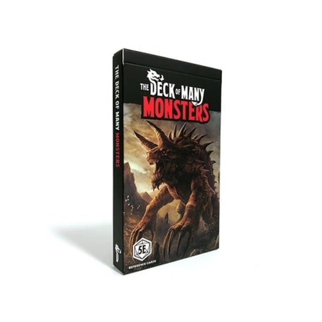 Deck of Many: Monsters
