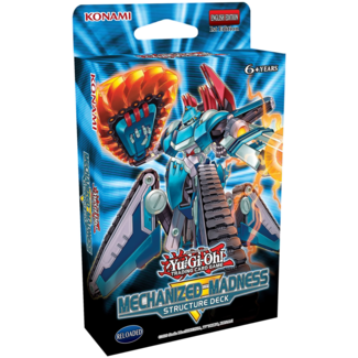 Konami Mechanized Madness Structure Deck - Yu-Gi-Oh!