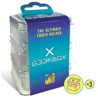 DV GIOCHI Geekbox Token Storage 3 pack