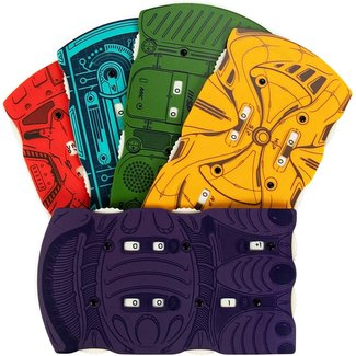 Stratagem Sci-Fi Health Trackers, 5-pack