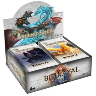 Alter Reality Games Argent Saga TCG: Betrayal Booster Box (24 packs)