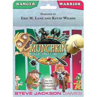 Steve Jackson Games Munchkin CCG: Ranger/Warrior Starter