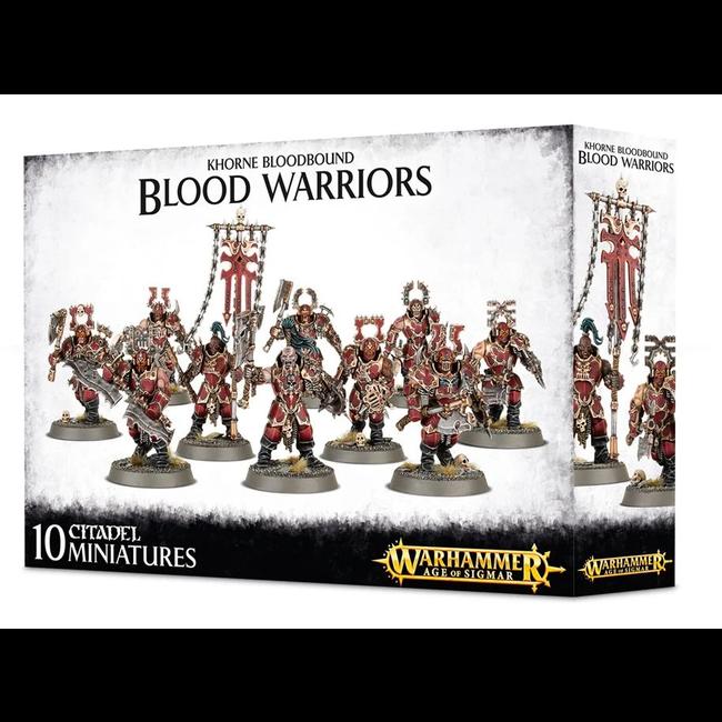 AoS Daemons of Khorne Blood Warriors