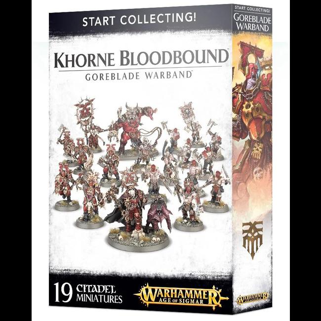 AoS Start Collecting! Khorne Bloodbound Goreblade Warband