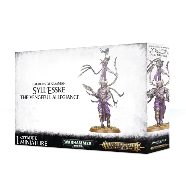 AoS Hedonites of Slaanesh Syll'Esske: The Vengeful Allegiance