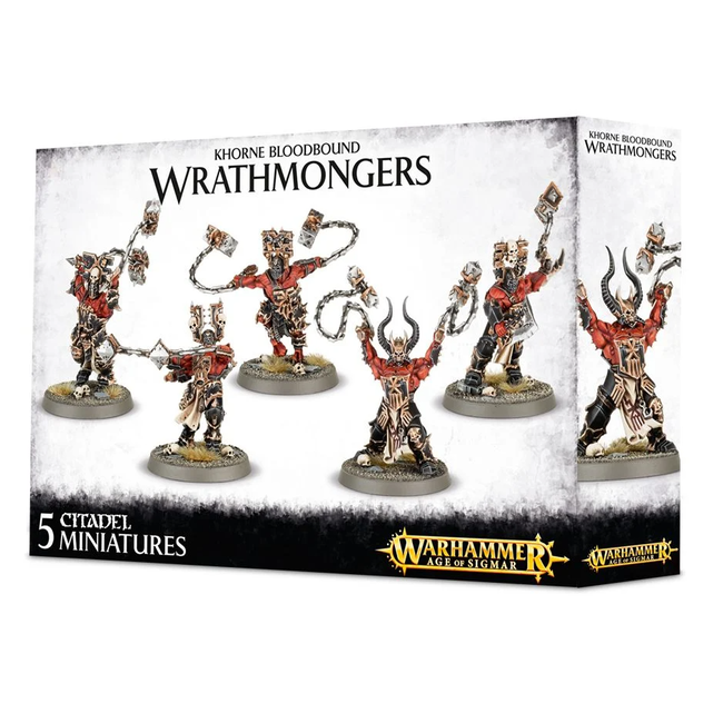 AoS Daemons of Khorne Wrathmongers