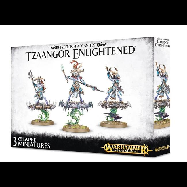 AoS Disciples of Tzeentch Tzaangor Enlightened