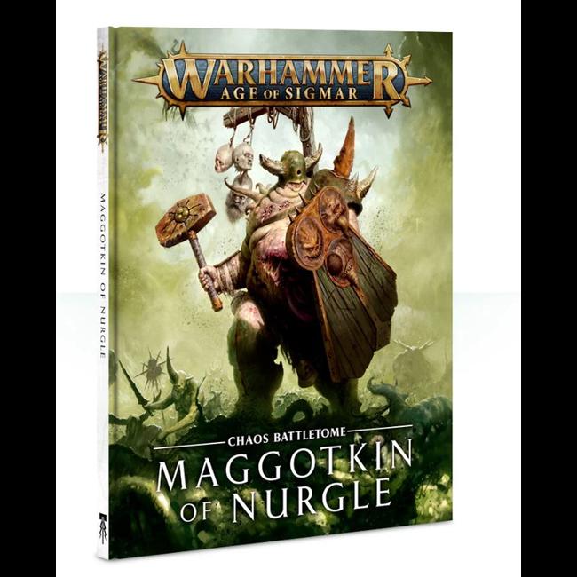 AoS Maggotkin of Nurgle Battletome