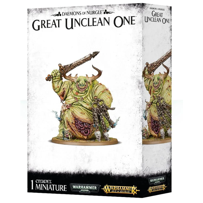 AoS Daemons of Nurgle Great Unclean One