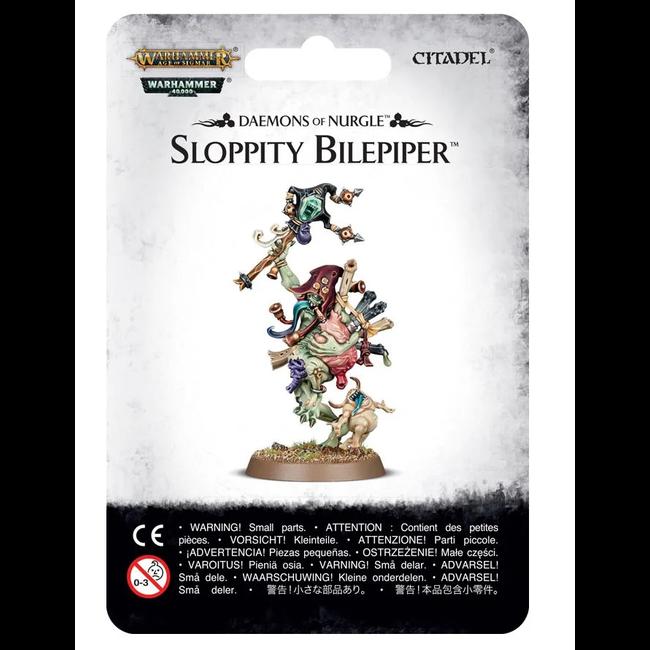 AoS Daemons of Nurgle Sloppity Bilepiper