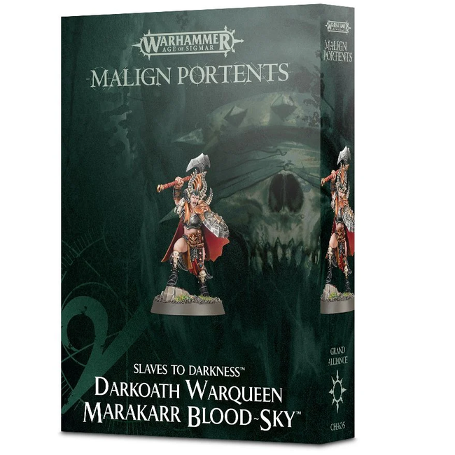 AoS Slave to Darkness Warqueen Marakarr Blood-Sky