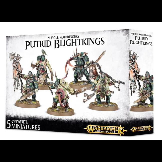 AoS Daemons of Nurgle Putrid Blightkings