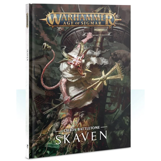 Warhammer Age of Sigmar AoS Skaven Battletome HC