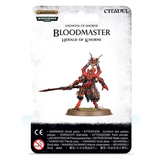 Games Workshop AoS Daemons of Khorne Bloodmaster Herald of Khorne