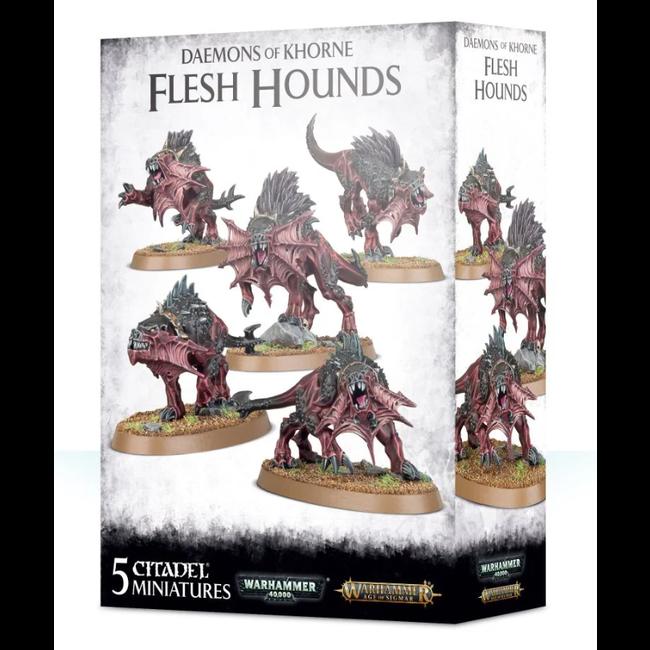 AoS Daemons of Khorne Flesh Hounds