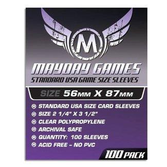 Mayday Games, Inc. Mayday 56x87 mm Standard USA Sleeves