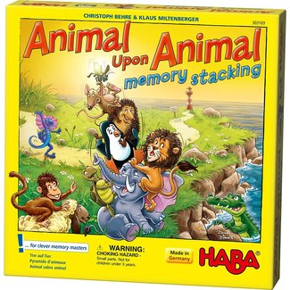HABA Animal Upon Animal: Memory Stacking