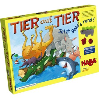 HABA Animal Upon Animal: Here we Turn! (tier auf tier)