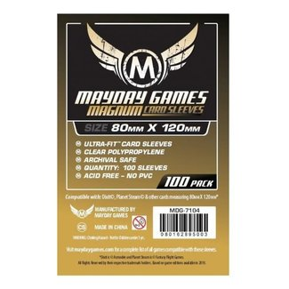 Mayday Games, Inc. Magnum Card Sleeves: 80mmx120mm