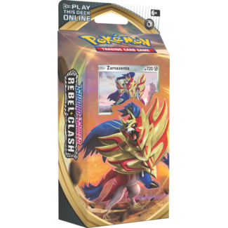 Pokemon Sword & Shield: Rebel Clash Zamazenta Theme Deck - Pokemon