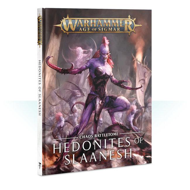 AoS Hedonites of Slaanesh Battletome HC