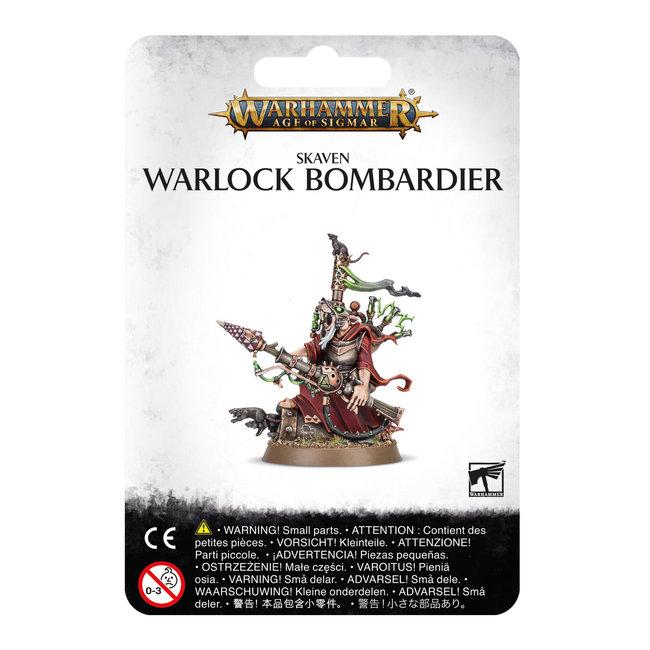 AoS Skaven Warlock Bombardier