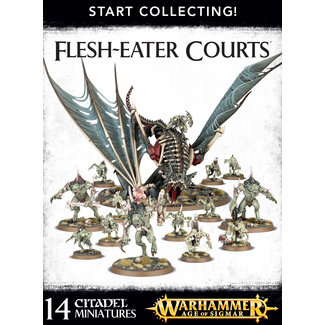 Warhammer Age of Sigmar AoS Start Collecting! Flesh-Eater Courts