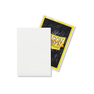 Dragon Shield White Japanese Matte Sleeves 60 ct - Dragon Shield
