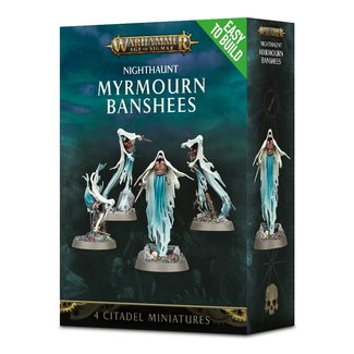 Warhammer Age of Sigmar AoS Nighthaunt EtB Myrmourn Banshees