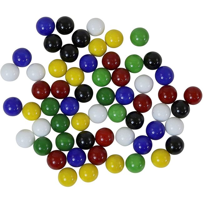 Chinese Checkers Marbles with Mesh Bag
