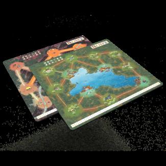 Leder Games Root Mountain Lake Playmat