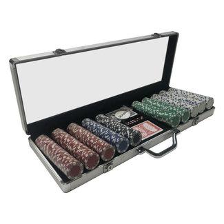 Breakout Eclipse Poker Set 500 Chip Aluminum *
