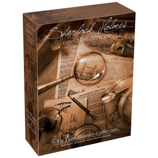 Space Cowboys Sherlock Holmes: Consulting Detective - The Thames Murders and Other Cases (stand alone)