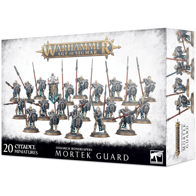 AoS Ossiarch Bonereapers Mortek Guard