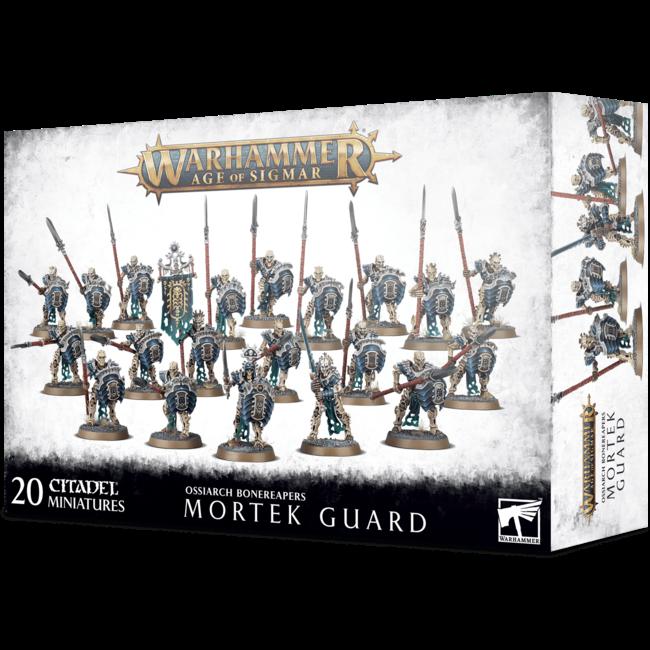 Ossiarch Bonereapers:  Ossiarch Bonereapers Mortek Guard