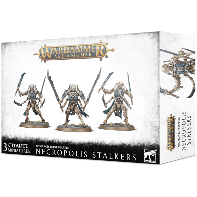AoS Ossiarch Bonereapers Necropolis Stalkers