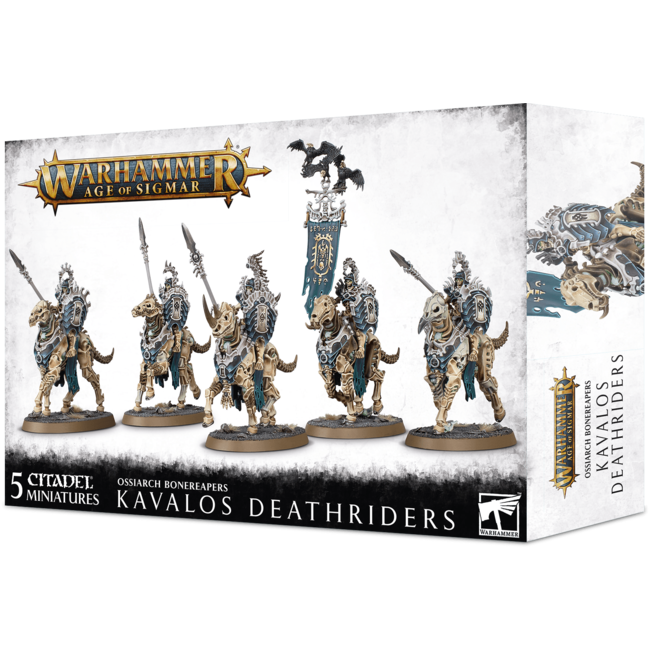 AoS Ossiarch Bonereapers Kavalos Deathriders