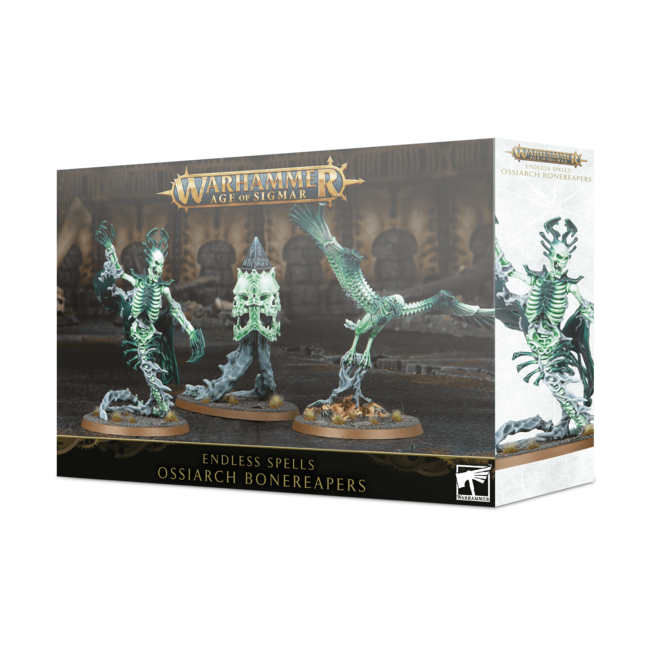AoS Ossiarch Bonereapers Endless Spells