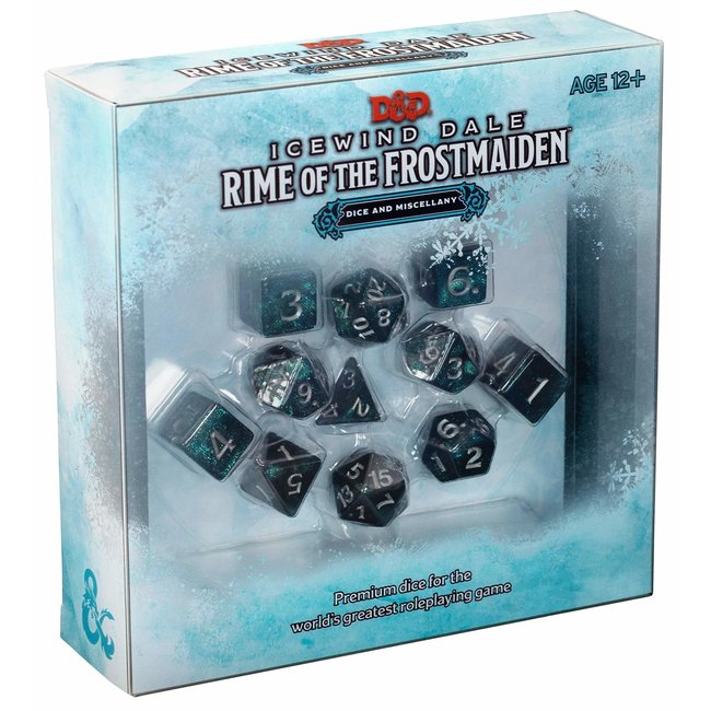 D&D Adventure Icewind Dale: Rime of the Frostmaiden Dice Set