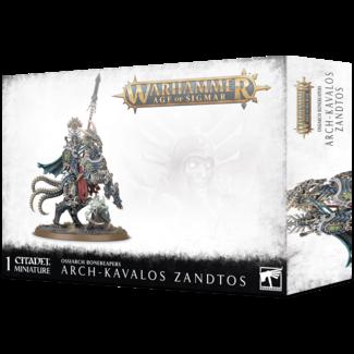 Warhammer Age of Sigmar AoS Ossiarch Bonereapers Arch-Kavalos Zandtos