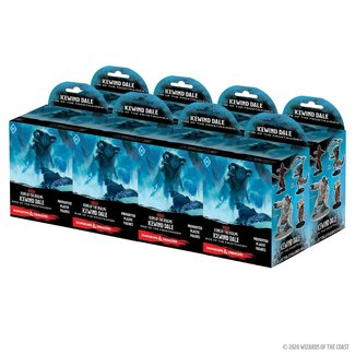 D&D Icons of the Realms Icewind Dale Rime of the Frostmaiden Booster Brick (8 ct)